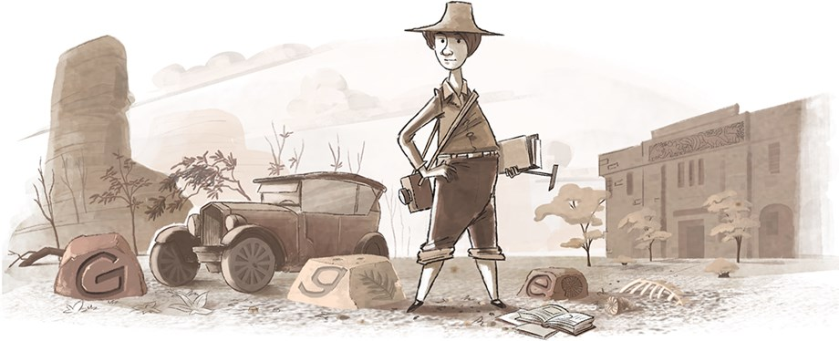 Google Doodle celebrates Professor Dorothy Hill's 111th Birthday