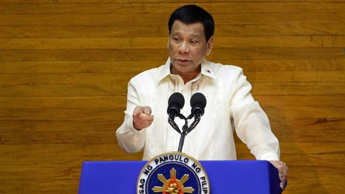 Philippines President stirs controversy with 'taking marijuana' comment