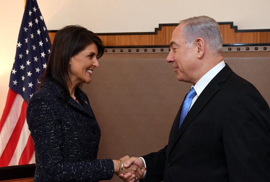 Nikki Haley thanked for standing up 'against' UN and for truth and justice