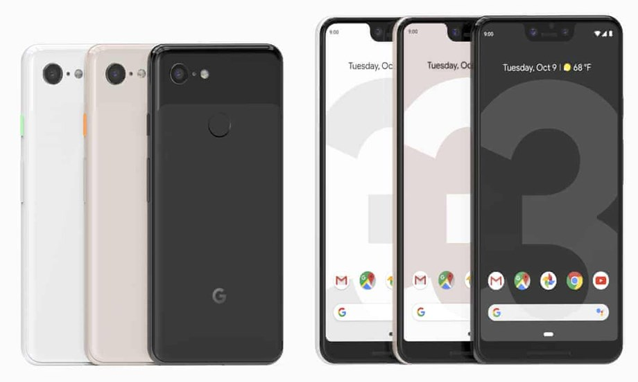 Google unveils Pixel 3, Pixel 3 XL, to be launched in India from November 1