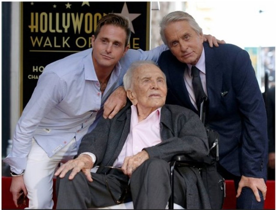 People News Roundup: Michael Douglas joins dad Kirk with star on Hollywood Walk of Fame