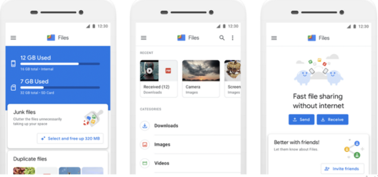 Google rebrands 'Files Go' app for smartphones to 'Files by Google'