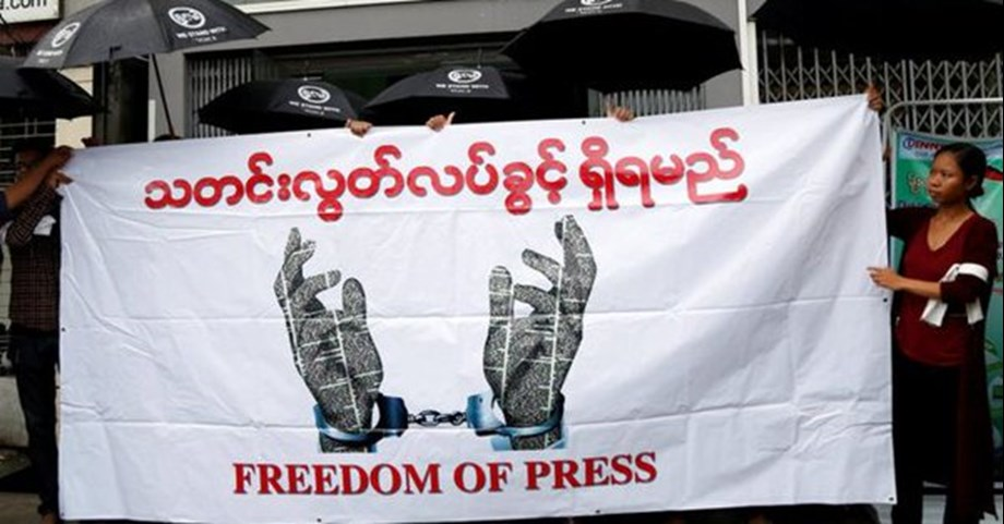 Myanmar journalists relieved from incitement case: Lawyer