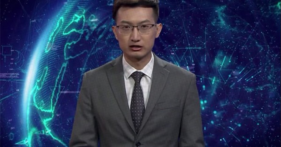 China explores use of AI in news industry; deploys virtual news anchors