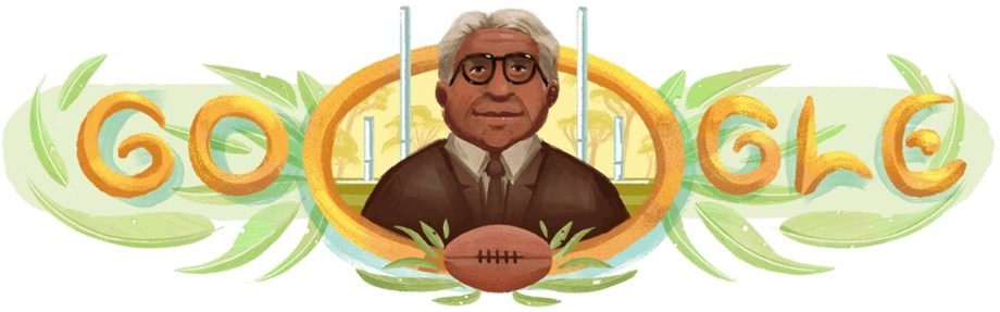 Douglas Ralph Nicholls remembered by Google with a Doodle today