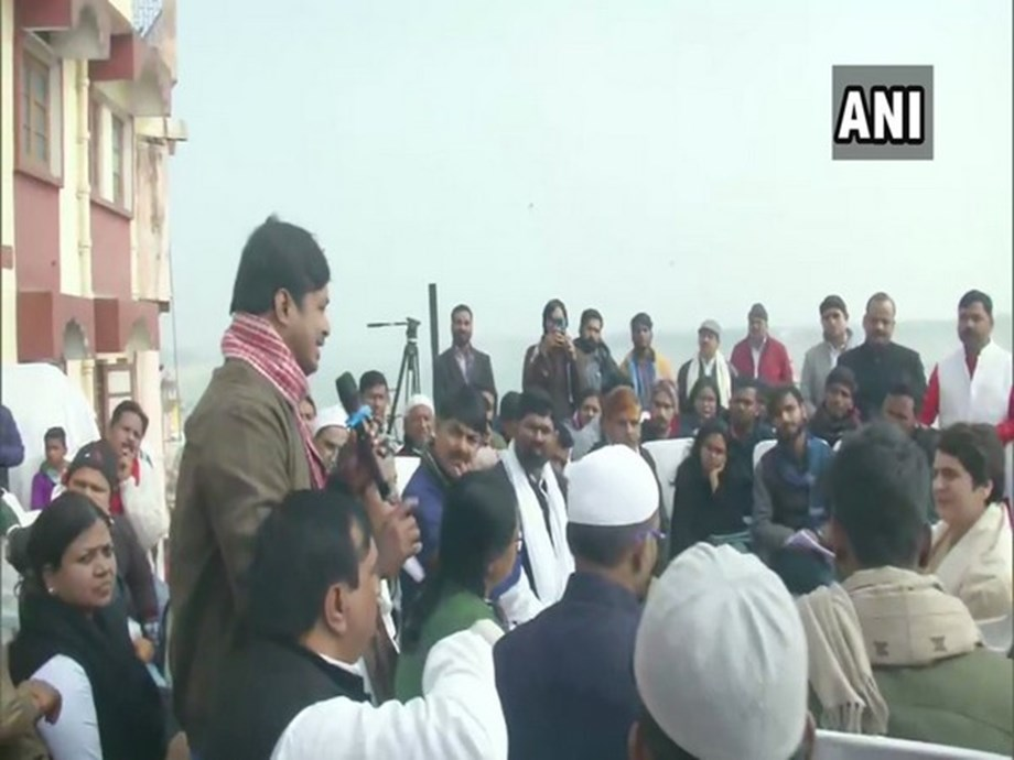 Priyanka Gandhi interacts with BHU students, civil society members in Varanasi