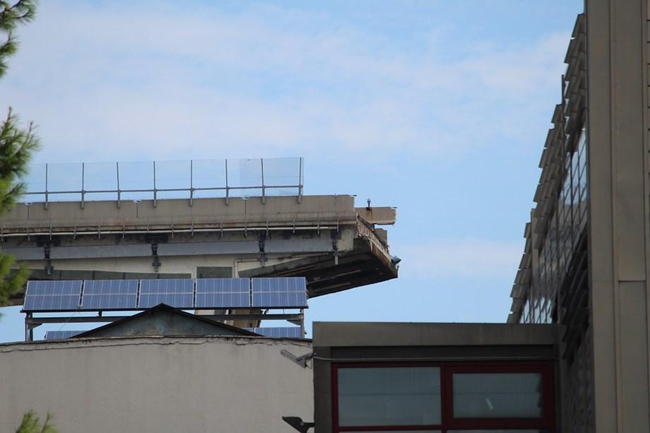 Engineers working around the clock to complete Genoa bridge by summer