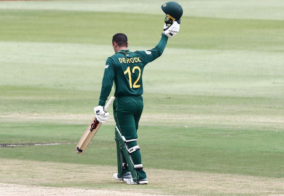 De-Kock continues piling up record as powers SA to a comfortable 6 wicket win over Sri Lanka