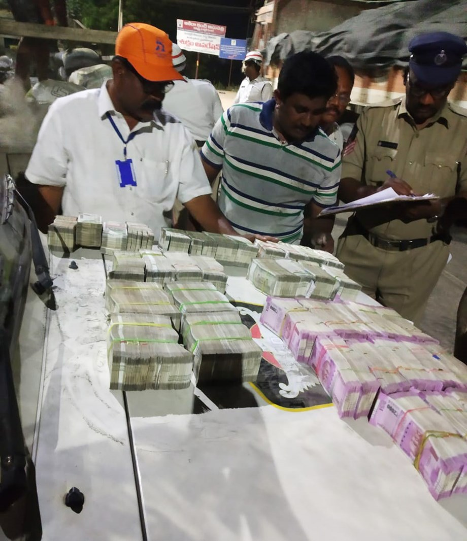 Andhra police seized cash worth Rs 1.9 cr in run-up for LS polls