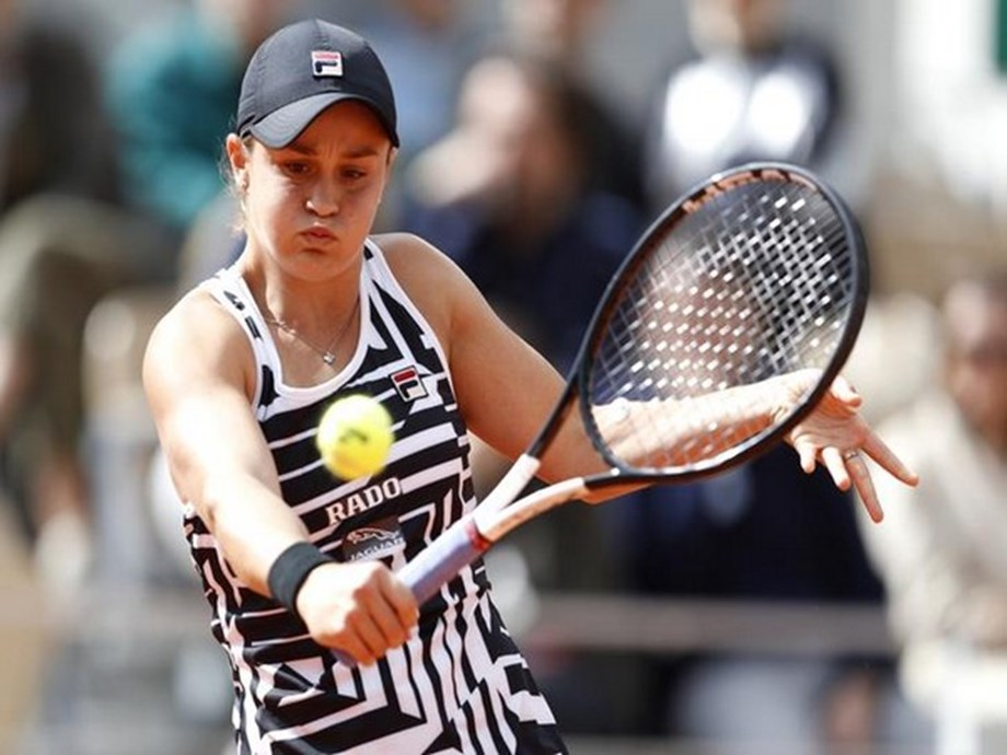 Tennis-Barty looking forward to fresh start on grass