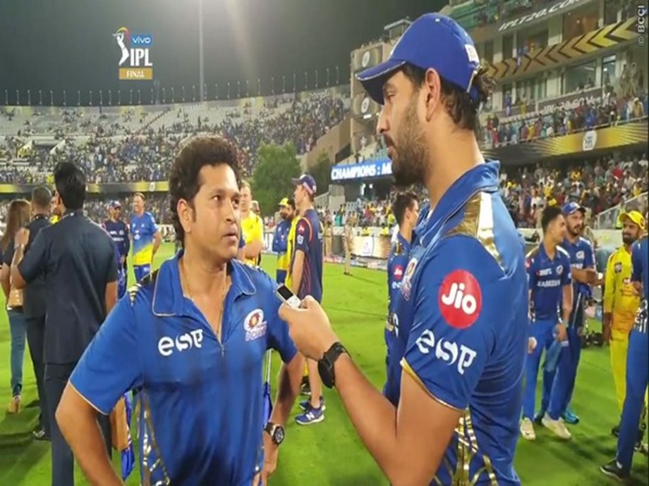 Sachin Tendulkar tells Yuvraj, Thanks for all that you have done for cricket
