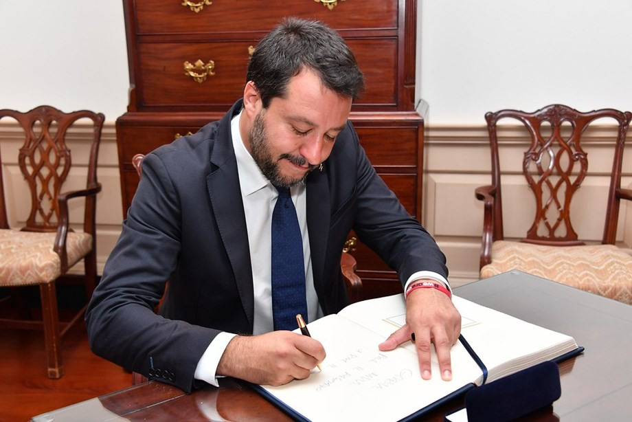 Italy's PM: Salvini 'obsessed' with blocking migrants at sea