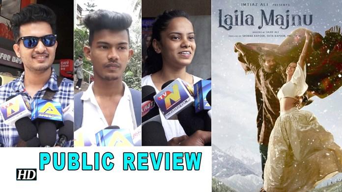 """Laila Majnu"" Public REVIEW | Ekta Kapoor – Imtiaz Ali's epic Love Story"