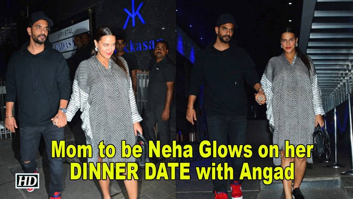 Mom to be Neha Glows on her DINNER DATE with Angad