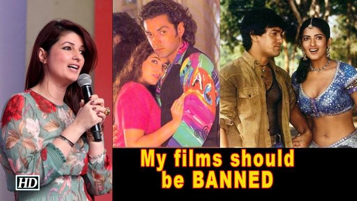 My films should be BANNED: Twinkle Khanna