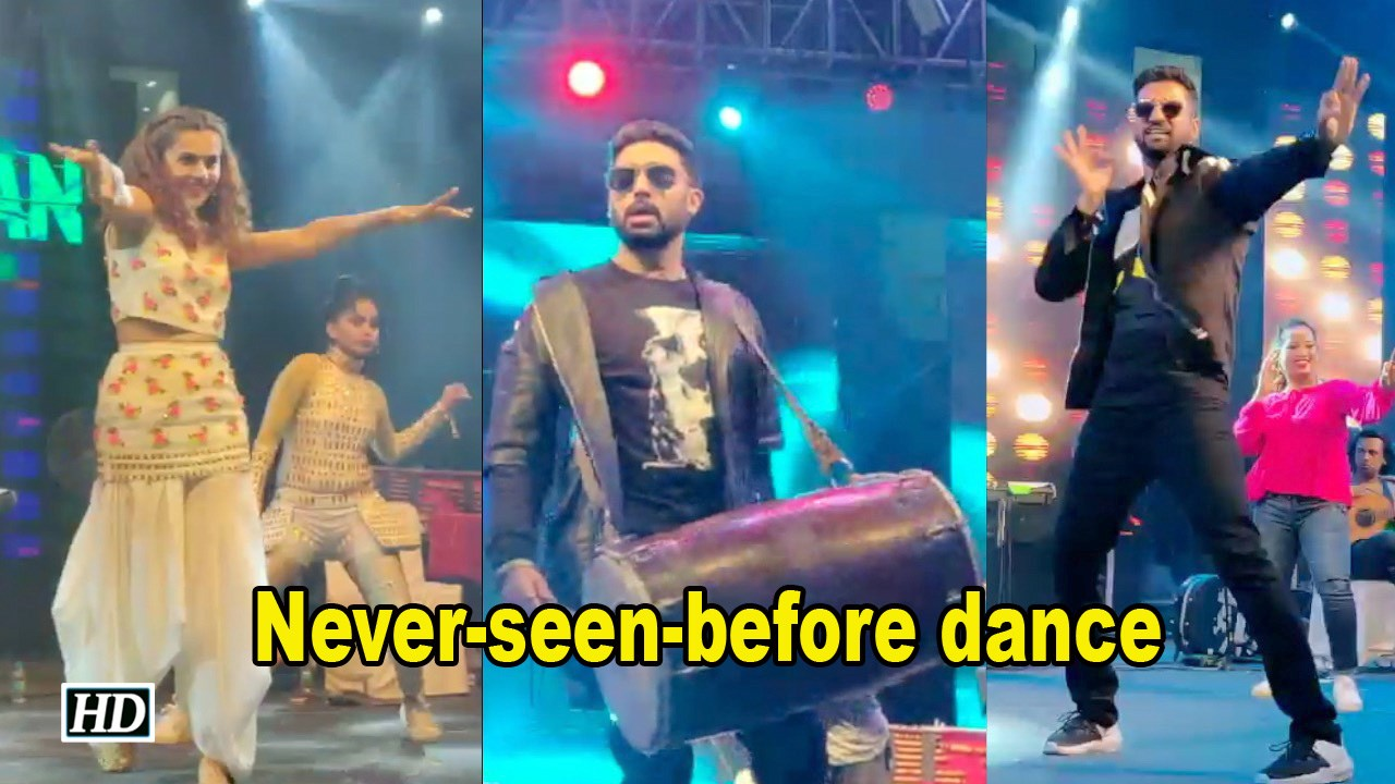 Taapsee-Vicky's 'Never-seen-before' dance, Abhishek turns Dholwala