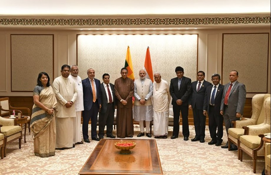 Parliamentary delegation of Sri Lanka calls on PM Modi in New Delhi