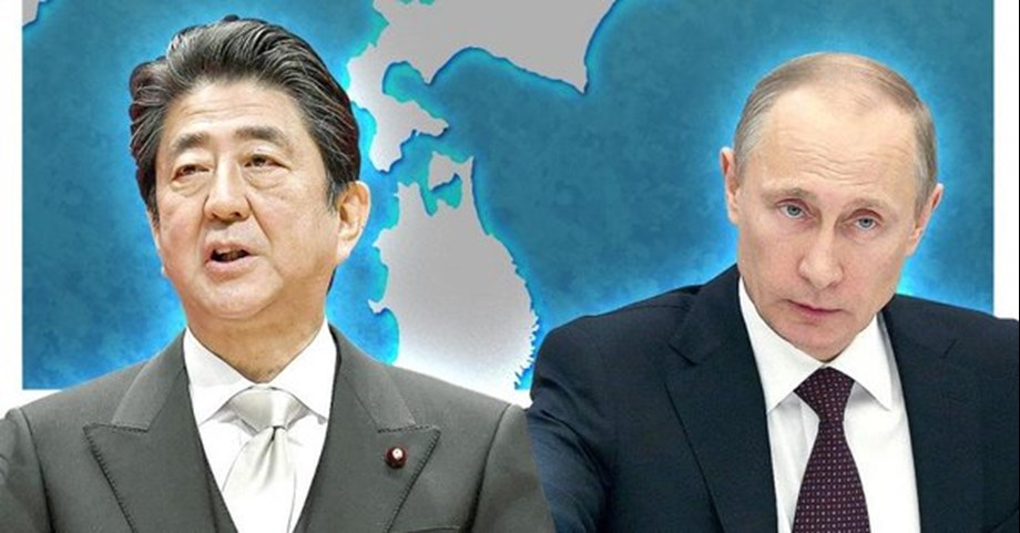 Japan PM Abe aims to push forward towards WWII peace treaty with Russia