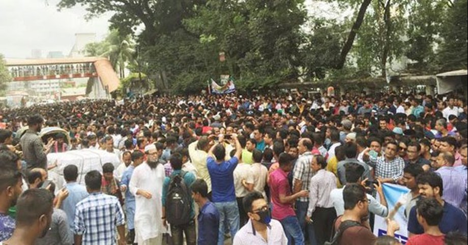 Bangladesh opposition stage protests across country for release of Khaleda Zia