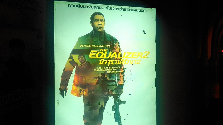 """Denzel Washington's """"The Equalizer 2"""" to release in India on September 21."""