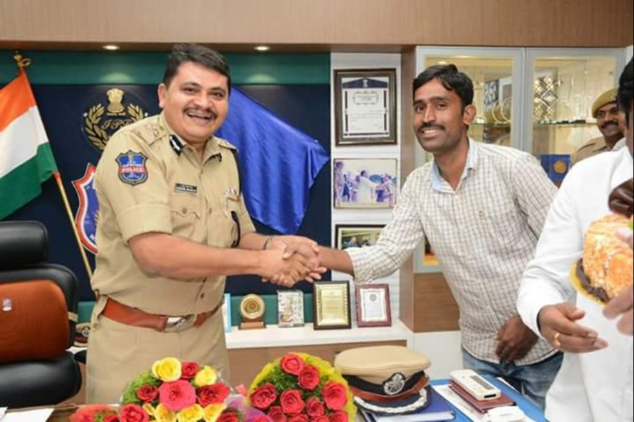 Senior IPS officer from Telangana selected for 2018 IACP award
