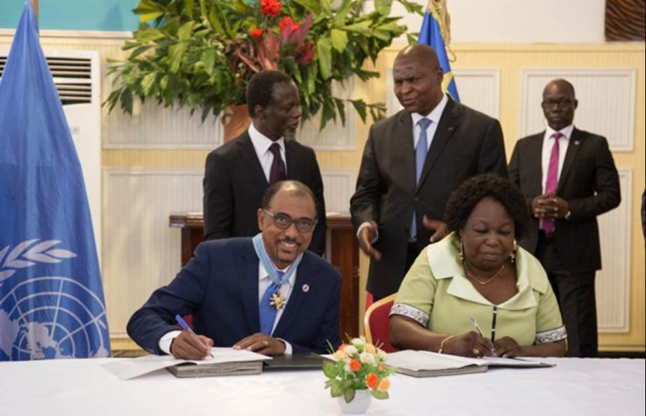 UNAIDS signed MoU to tackle HIV problem in Central African Republic