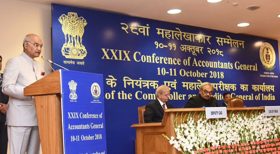 President Kovind inaugurates 29th Accountants Conference