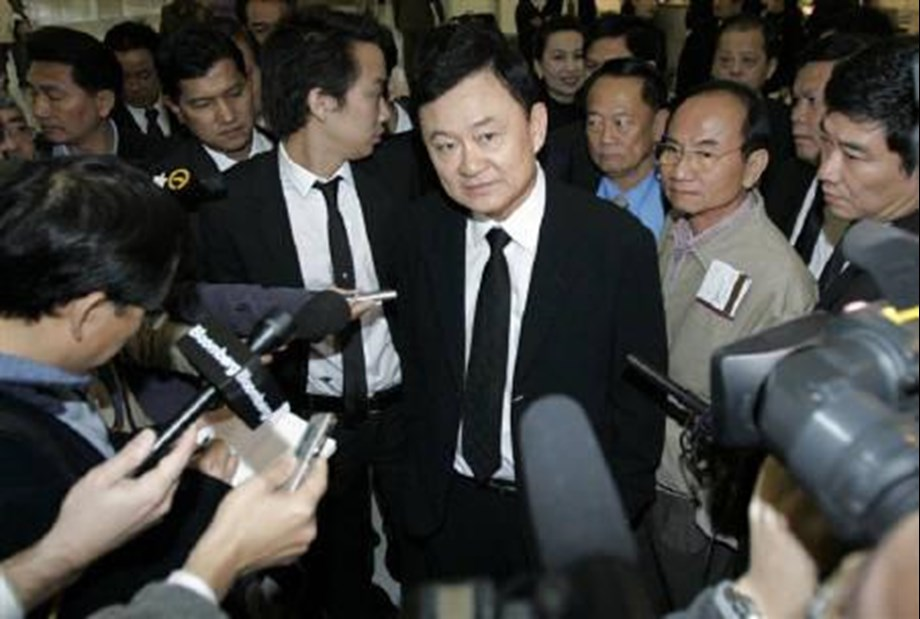 Former Thailand PM Shinawatra's son faces money laundering indictment