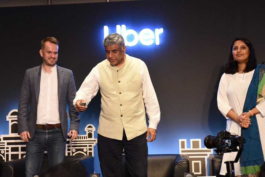 US-based ride-sharing giant Uber launched 'Movement' for Bengaluru