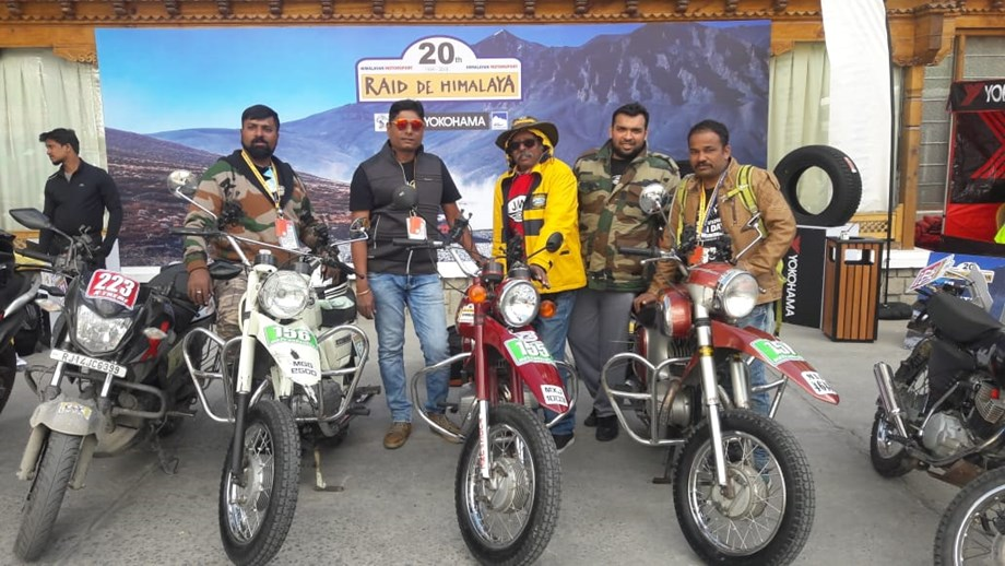 Team Polaris Arindam Saikia came back in style to shoot into lead after snow-hit Day 2 in  20th Raid de Himalaya