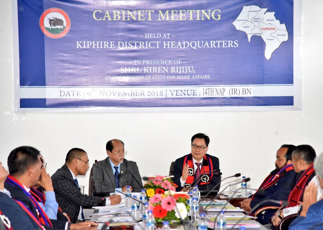 Disaster management: Rijiju highlights need for improving early warning systems