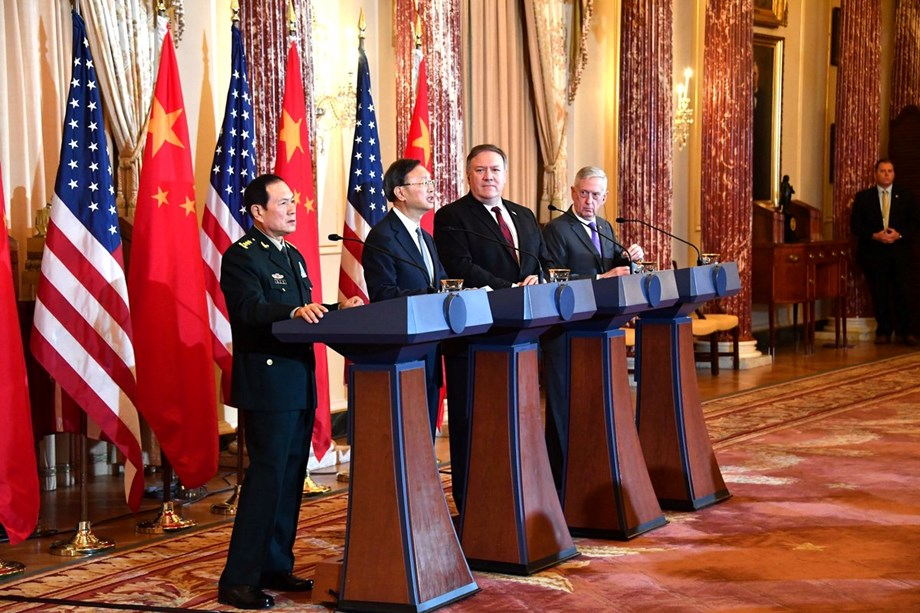 Mike Pompeo dis-affirm containment of China