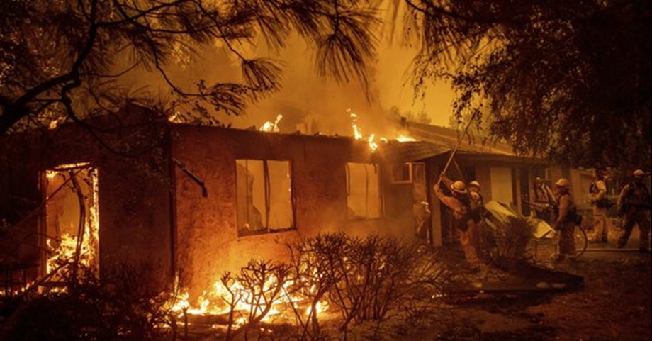 California fire claims 9 lives, thousands flee their homes