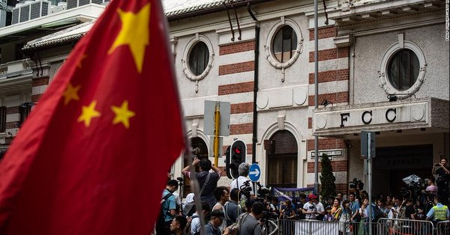 Exiled Chinese author Jian fears suppression of freedom of speech in Hong Kong