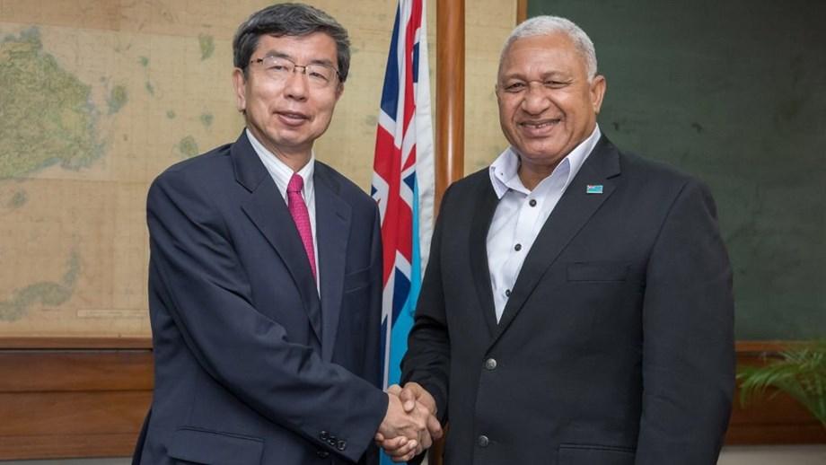 ADB President meets PM Bainimarama to strengthens partnership in Fiji