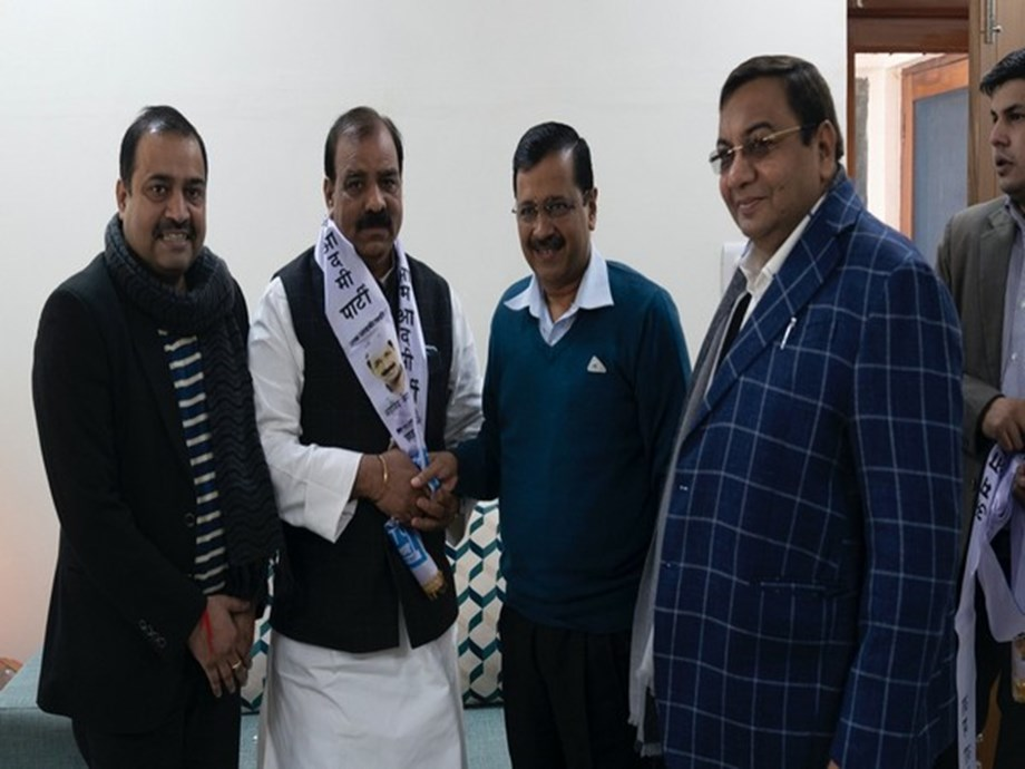 Former Delhi Youth Congress president joins AAP