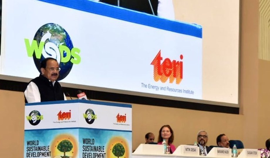 India to achieve 175 GW renewable energy target by 2022 says VP at WSDS 2019