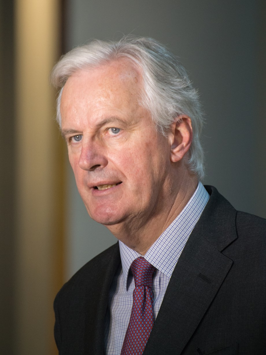 May's deal 'only agreement possible' for orderly Brexit: Barnier