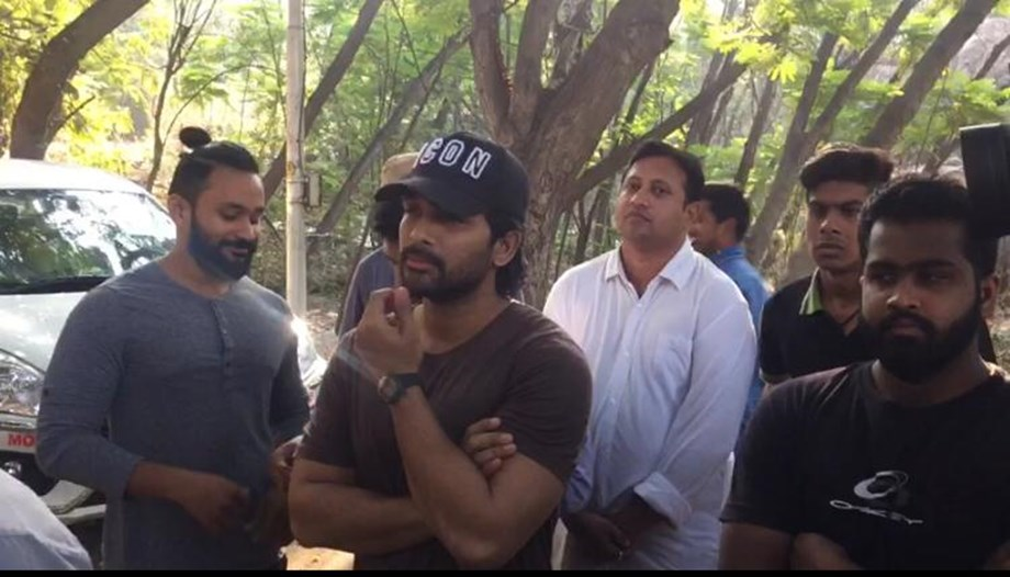 Top stars from the Telugu film industry Jr NTR, Allu Arjun, Chiranjeevi cast their votes