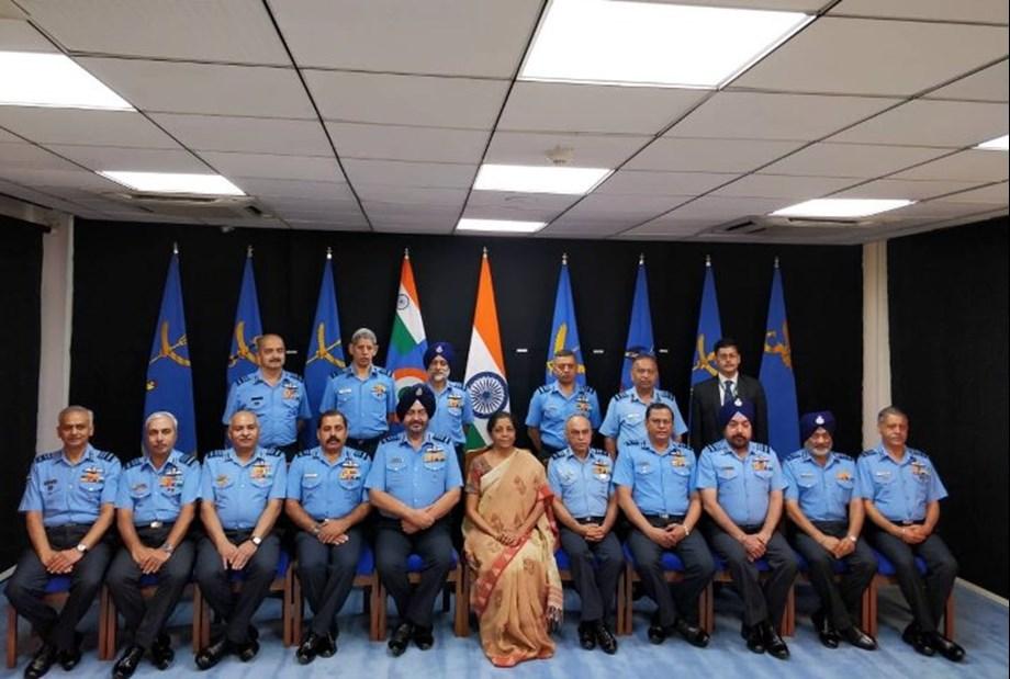 Raksha Mantri addresses Air Force Commanders at Conference of IAF for 2019