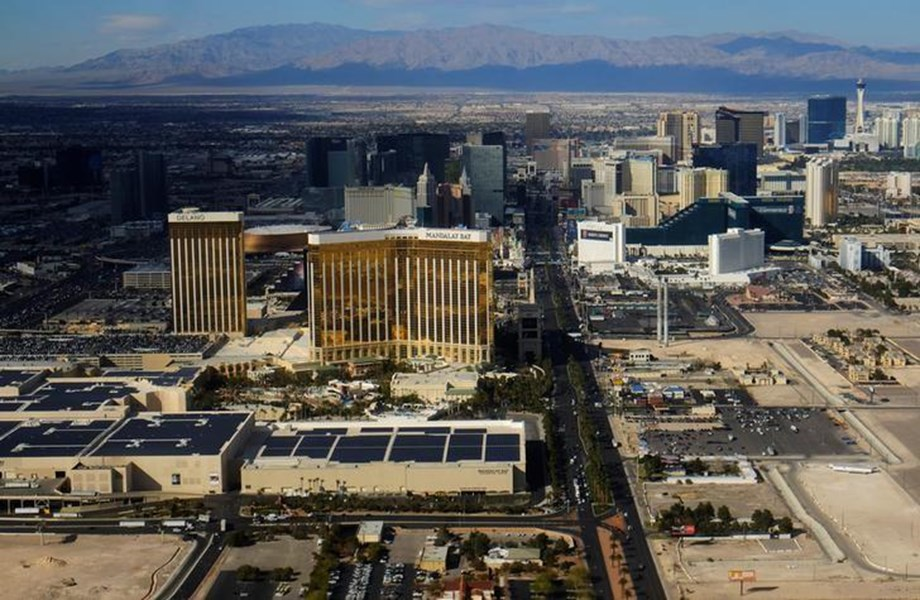 Las Vegas shining again a decade after recession as it braces itself for next possible fall