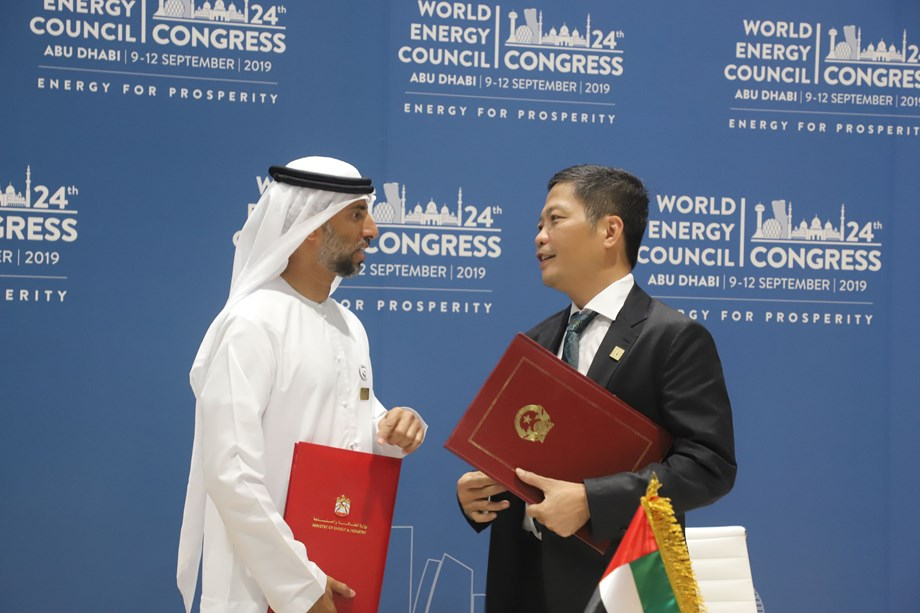 WEC24: UAE signs MoUs with Vietnam and Spain at WEC 2019