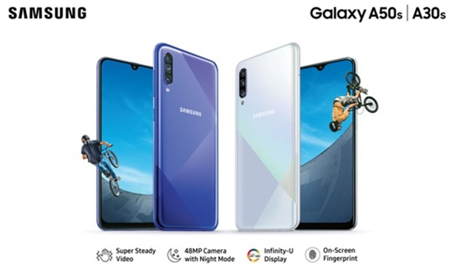 Samsung launches mid-range Galaxy A30s, Galaxy A50s in India