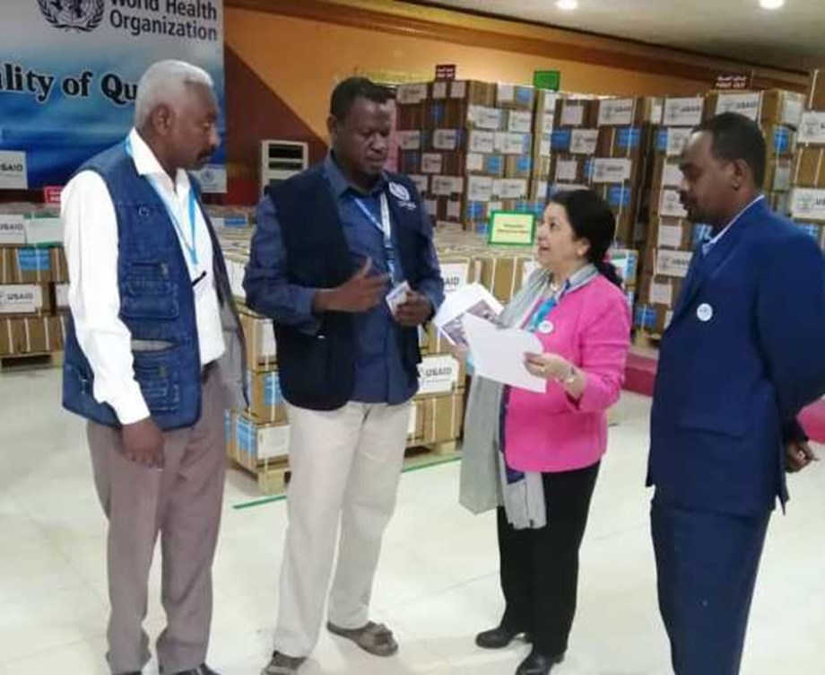 WHO working with health authorities to boost cholera surveillance in Sudan
