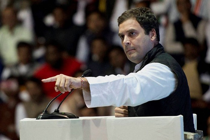 Farmers asking for their rights, not free gift: Rahul