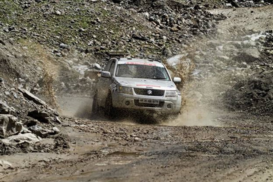 Lhakpa dropped out of 20th edition of the Raid de Himalaya with electrical failure