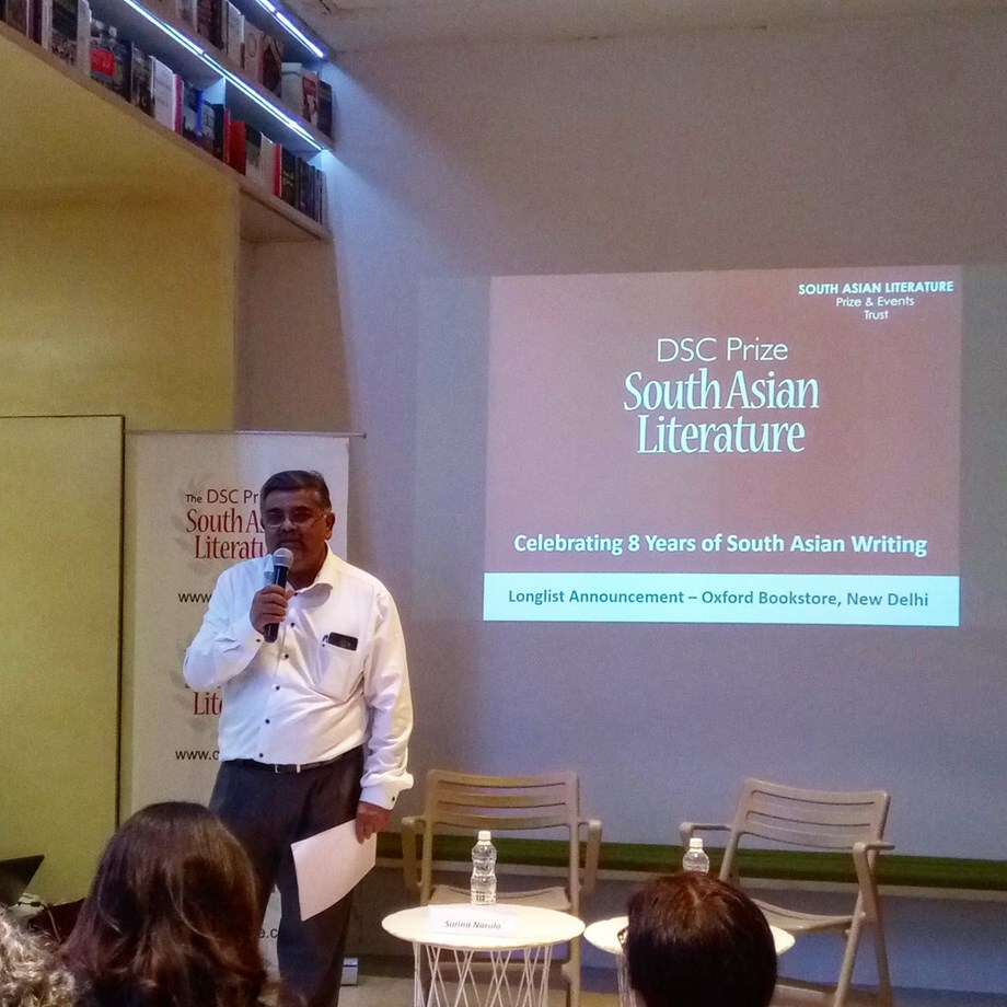 Sixteen novels longlisted for $25,000 DSC Prize for South Asian Literature