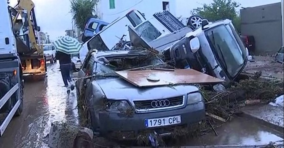 Britons among 10 dead in Majorca island flash floods, a boy remains missing