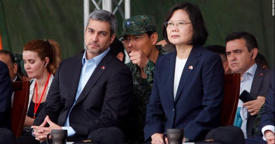 Taiwan's President describes Taiwan as being on frontline of tensions in Pacific