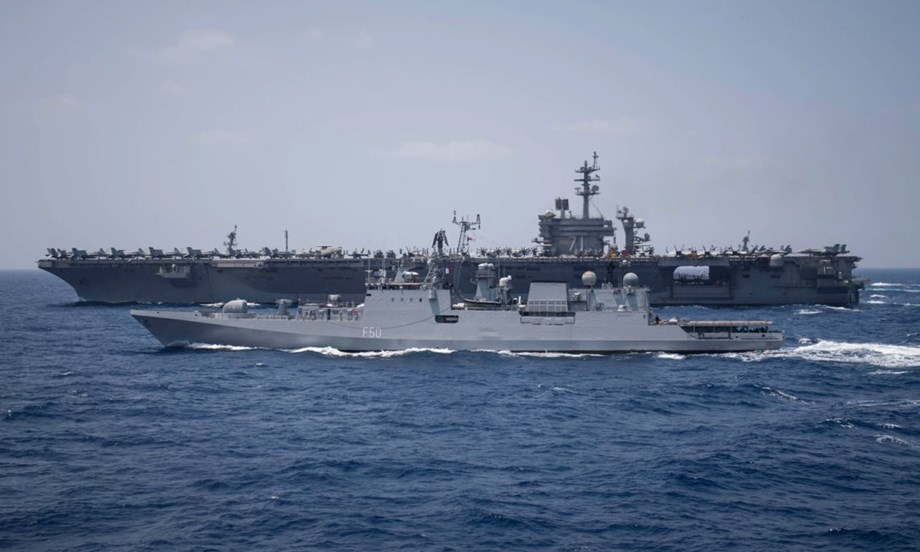 US Navy warship docked in southern Israeli port of Ashdod, first such visit in 20 years